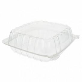 "Plastic scharnierende Deli-Container OPS ""transparant Seal"" 335ml (125 stuks)"