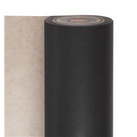 Rouleau de Papier Cadeau Kraft Noir (1 Unité)