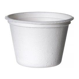 Pot Canne à Sucre Bagasse Blanc 120ml (1800 Utés)
