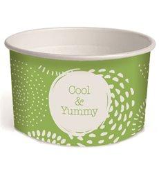 Pot à glace en carton 3oz/100 ml Cool&Yummy (65 Unités)
