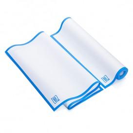 """Torchons """"Roll Drap"""" avec Bande Bleue 40x64cm P64cm (200 Utés)"""
