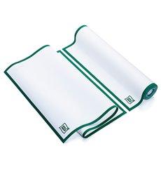 """Torchons """"Roll Drap"""" avec Bandes Vert 40x64cm P40cm (10 Utés)"""