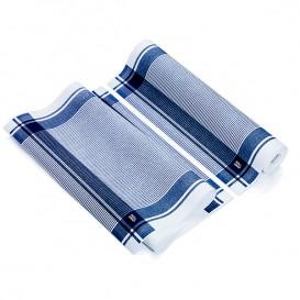 """Torchons """"Roll Drap"""" Vintage Bleu 40x64cm P64cm (200 Utés)"""