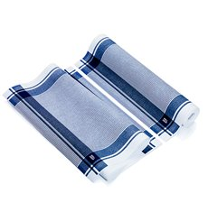 """Torchons """"Roll Drap"""" Vintage Bleu 40x64cm P40cm (200 Utés)"""