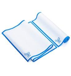 """Torchons """"Roll Drap"""" avec Bandes Bleu 40x80cm P40cm (10 Utés)"""