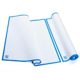 """Chiffons """"Roll Drap"""" avec Bande Bleue 52x64cm P64cm (10 Utés)"""