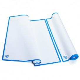 """Chiffons """"Roll Drap"""" avec Bande Bleue 52x64cm P64cm (200 Utés)"""