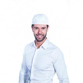 Bandana Cuisinière Coton Blanc (25 unités)