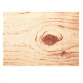 "Katoenen placemat ""Daen Drap"" hout 32x45cm (72 stuks)"
