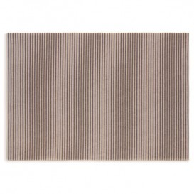 "Katoenen placemat ""Daen Drap"" blauw Line 32x45cm (72 stuks)"