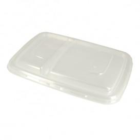 Plastic Lip PP Container 2C 24x16,5cm (50 stuks)