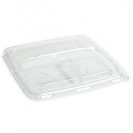 Couvercle Plastique PP pour Boîte 3C 23cm (25 Utés)