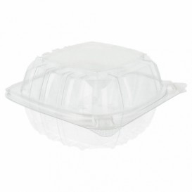 "Plastic scharnierende Deli-Container OPS ""transparant Seal"" 167ml (125 stuks)"