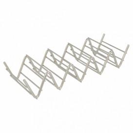 Sandwich houder van staal 19,7x6,4x3,8cm (1 stuk)