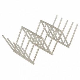 Sandwich houder van staal 11,8x5,1x3,7cm (12 stuks)