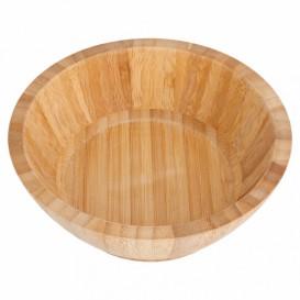 Bamboe wegwerp kom Ø17x6cm (1 stuk)