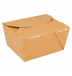 Boîte Carton Américaine Naturel 113x90x64mm 780ml (450 Utés)