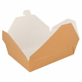 Boîte Carton Américaine Naturel 19,7x14x4,6cm 1470ml (50 Utés)