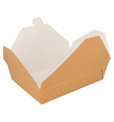 Boîte Carton Américaine Naturel 197x140x46mm 1500ml (50 Utés)