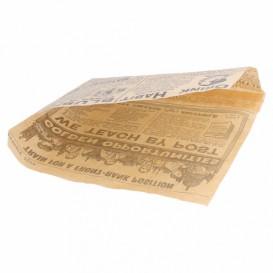 Sachet Ingraissable Ouverture latérale Journaux 16x16,5cm (5000 Utés)