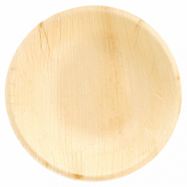 Bol Rond en Feuilles de Palmier Ø18x3,5cm (25 Unités)