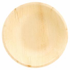 Palm blad kom Rond vormig Ø18x3,5cm (25 stuks)