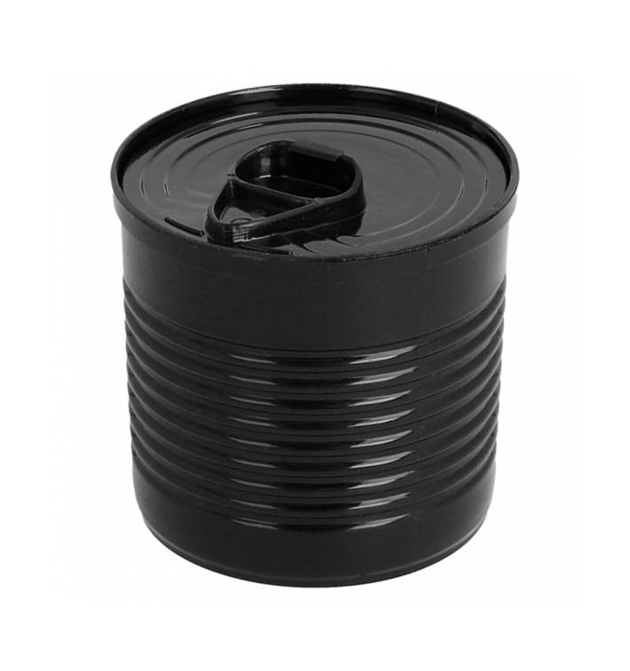 Boîte de Conserve Noire PS 110ml Ø6x5,7cm (200 Utés)