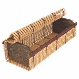 Boîte en Bambou Sushi 23x8x6cm (1 Uté.)