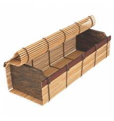 Boîte en Bambou Sushi 23x8x6cm (24 Utés.)