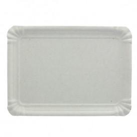 Plat rectangulaire en Carton Blanc 22x28 cm (600 Utés)