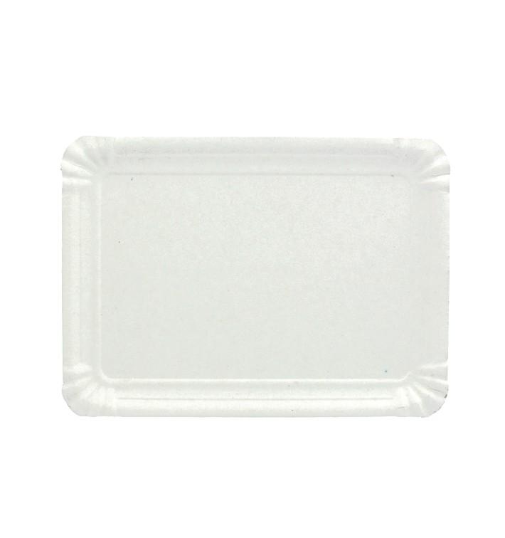 Plat rectangulaire en Carton Blanc 34x42 cm (200 Utés)