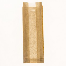Papieren voedsel zak 9+5x50cm (125 stuks)