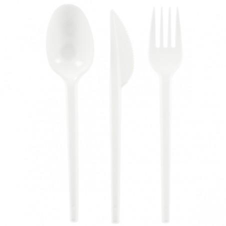 Kit Couverts Fourchette, Cuillère, Couteau (500 Utés)
