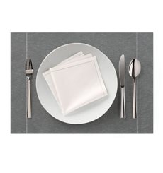 "Set de Table ""Day Drap"" Anthracite 32x45cm (12 Utés)"