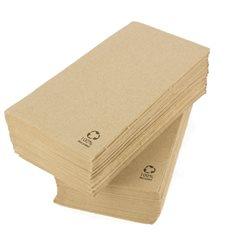 Serviette Papier Molletonnée 1/8 40x40cm (1.200 Unités)