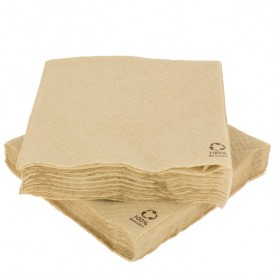 Papieren servet Eco-Vriendelijk 30x30cm 1-laags (100 stuks)