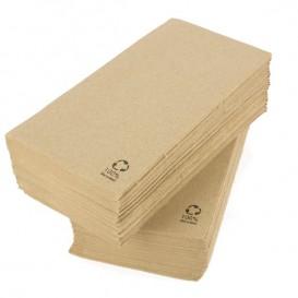 Serviette Papier Ecologique 40x40cm 2 Ep. 1/8 (50 Utés)