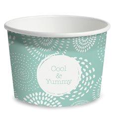 Pot à glace en carton 9oz/260 ml Cool&Yummy (1.320 Unités)