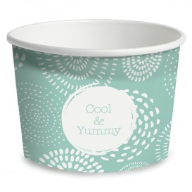 Pot à glace en carton 9oz/260 ml Cool&Yummy (55 Unités)