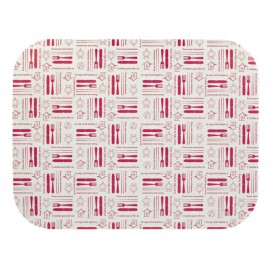 """Papieren Deksel voor Folie pan """"12 Cannelloni"""" 1180ml (600stuks)"""