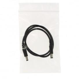 Plastic zak met rits drukknoopsluiting 11x11cm G-200 (100 stuks)