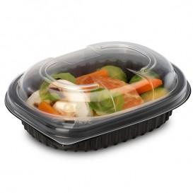 Plastic PP Container Rechthoekige vorm 250ml 14,2x11,1x3,1cm (640 stuks)
