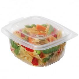 Plastic Container Microwave PP transparant 750ml 14,2x12,3cm (600 stuks)