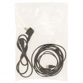 Sac en PE Fermeture Zip 25x35cm G160 (100 Utés)
