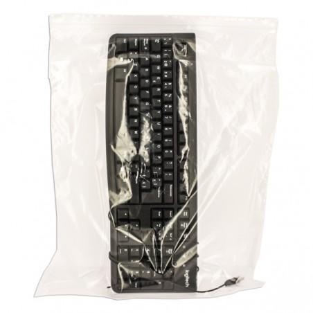 Sac en PE à Fermeture Zip 40x50cm G300 (50 Utés)