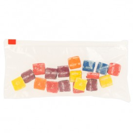 Plastic zak schuifrits G250 25x17cm (50 stuks)