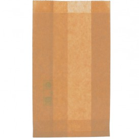 Papieren hamburgerbox Vetvrij Burger Design kraft 12+6x20cm (1000 stuks)