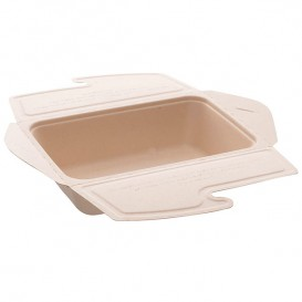 Boîte Canne à Sucre MenuBox 21x15x5cm 1000ml. (75 unités)