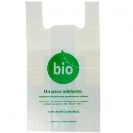 Plastic Hemddraagtassen 100% Biologisch afbreekbaar 55x60cm (500 stuks)