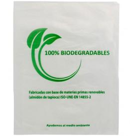 Plastic zak 100% biologisch afbreekbaar 35x48cm (100 stuks)